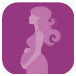 Maternity Notes App Icon