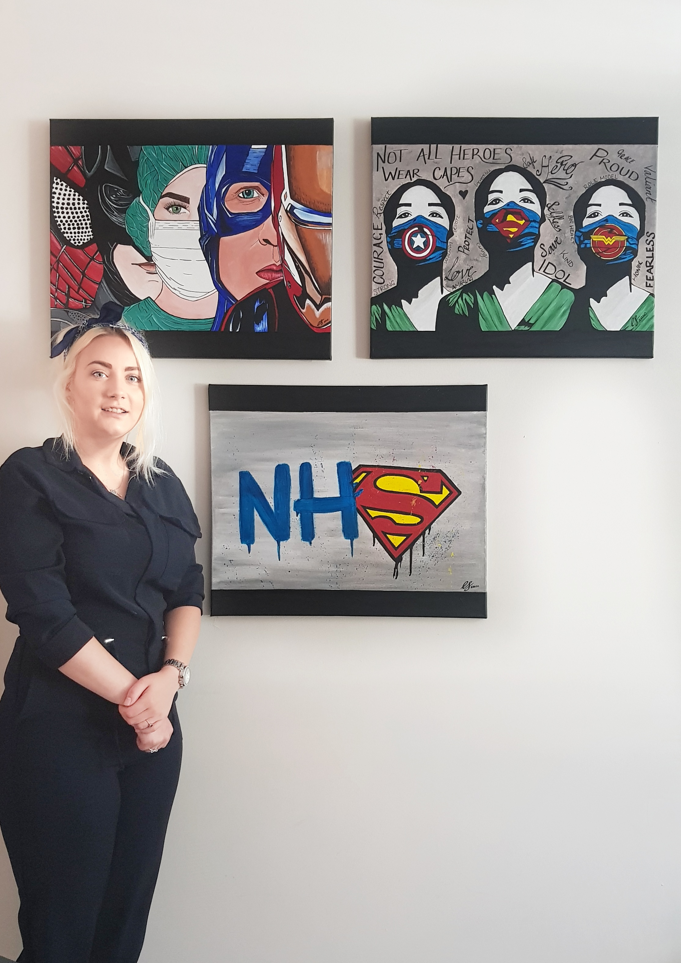 Artist to hold painting auction to raise cash for the NHS