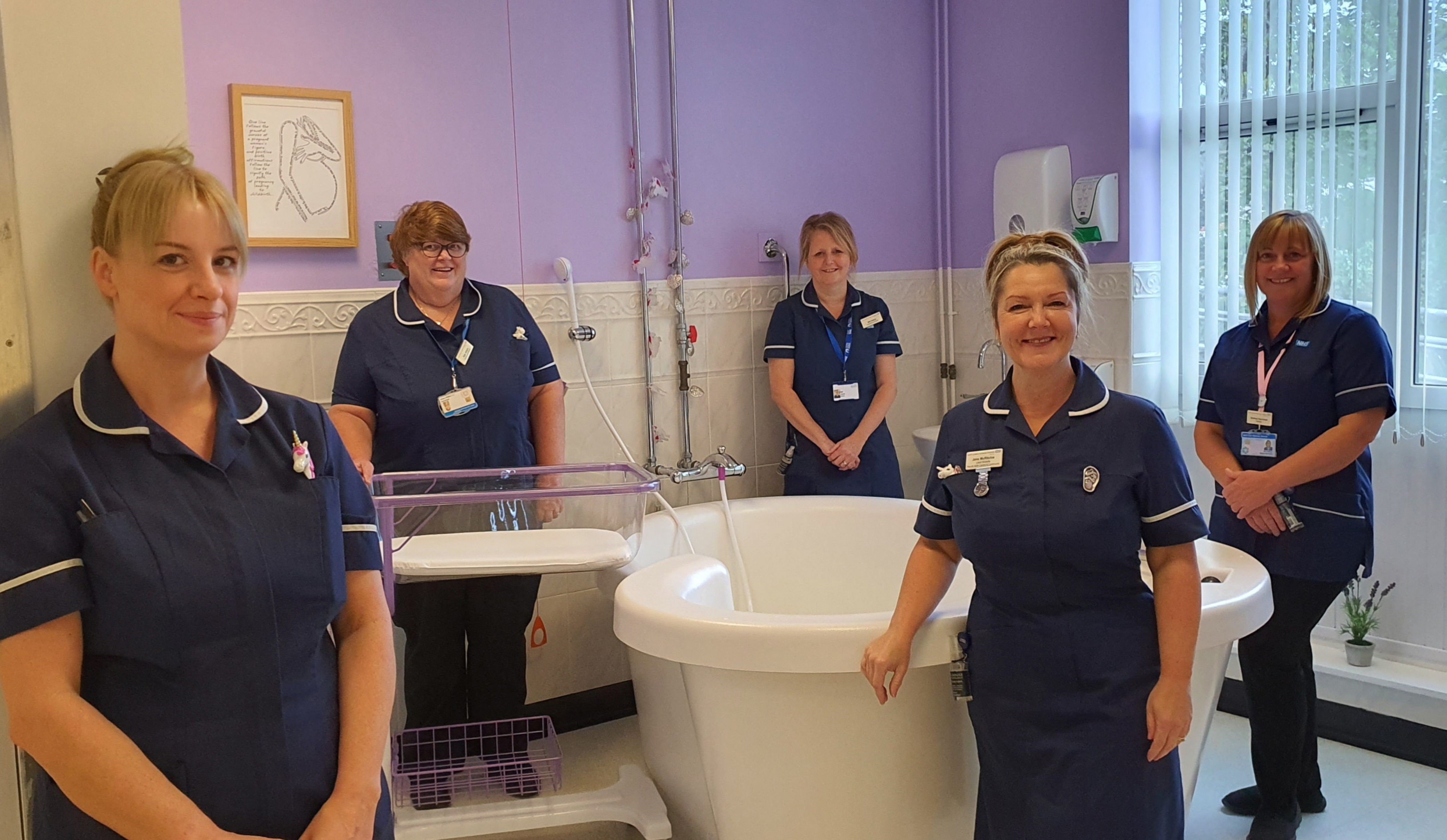 Penrith Birth Centre staff celebrate International Day of the Midwife
