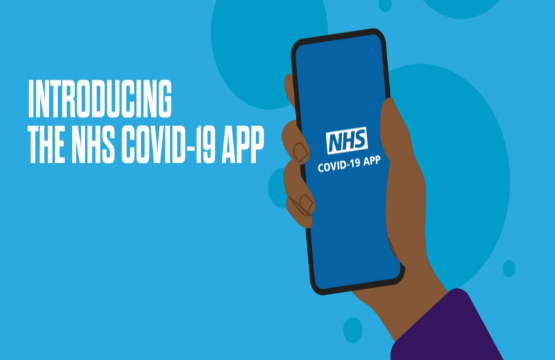Please download the NHS COVID-19 track and trace app